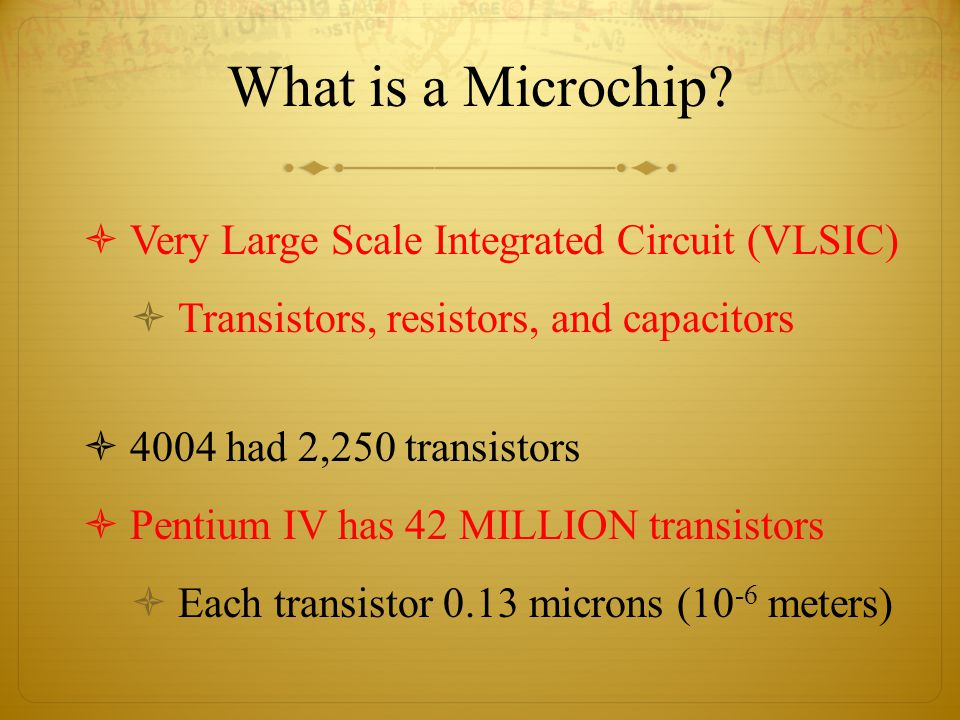 What is a Microchip.