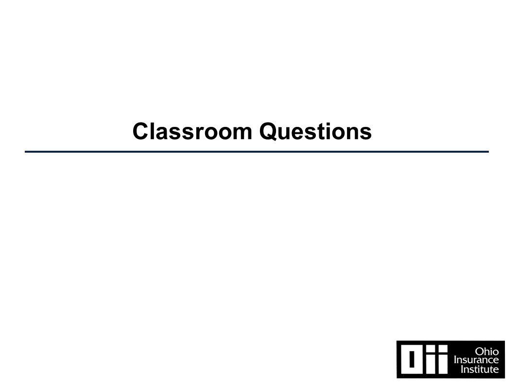 Classroom Questions