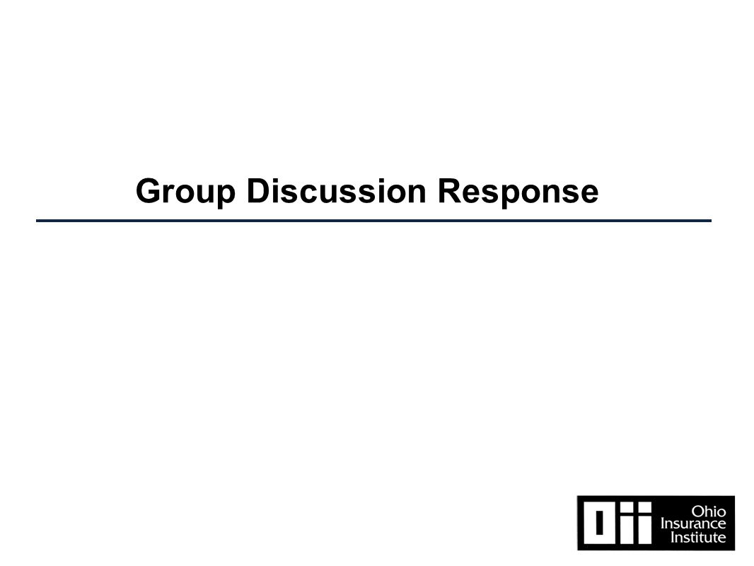 Group Discussion Response