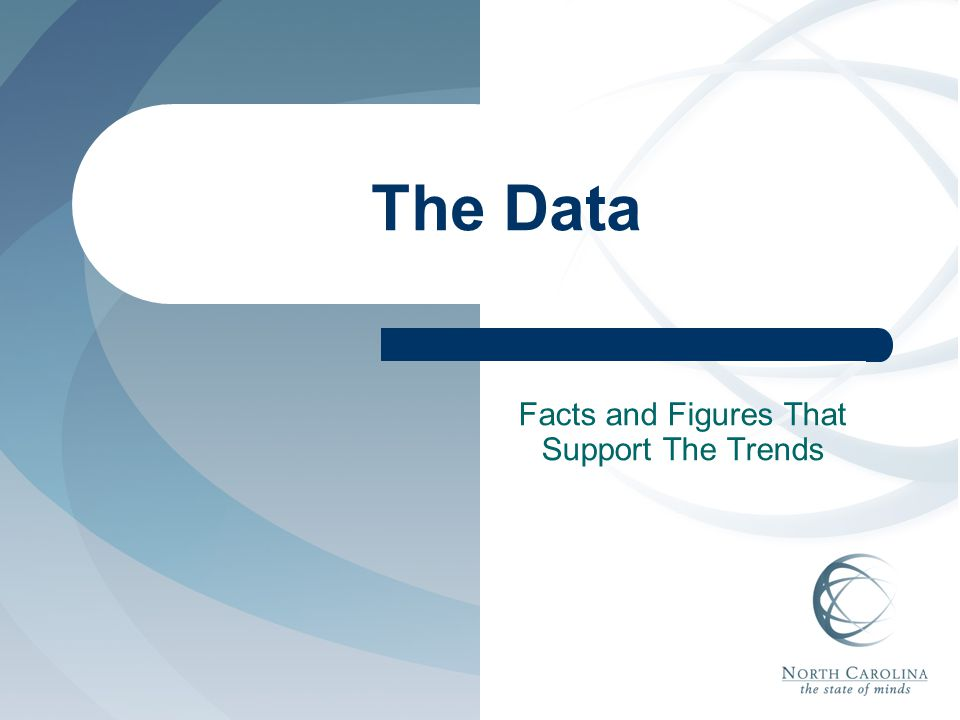 The Data Facts and Figures That Support The Trends