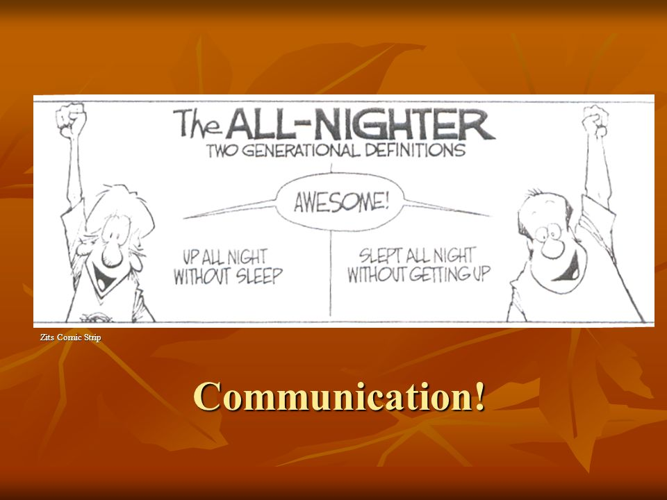 Zits Comic Strip Communication!