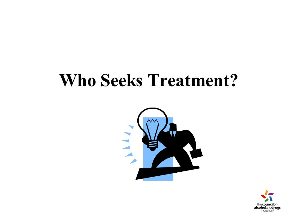 Who Seeks Treatment