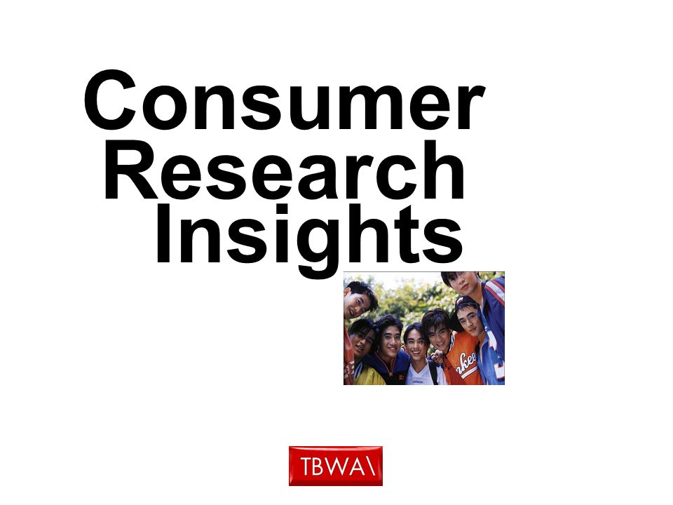 Consumer Research Insights