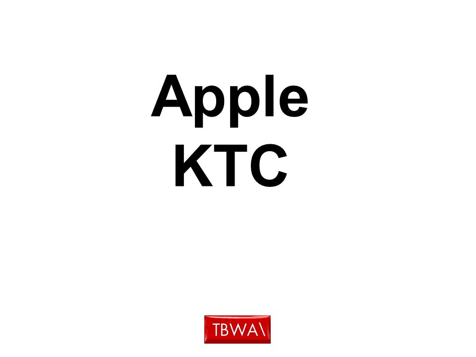 Apple KTC