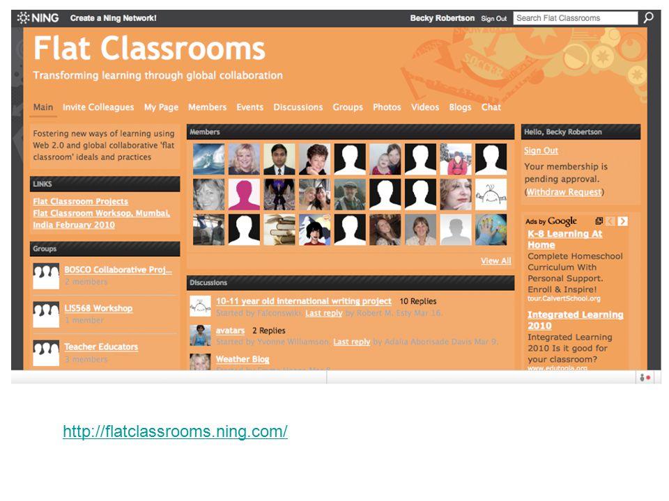 http://flatclassrooms.ning.com/