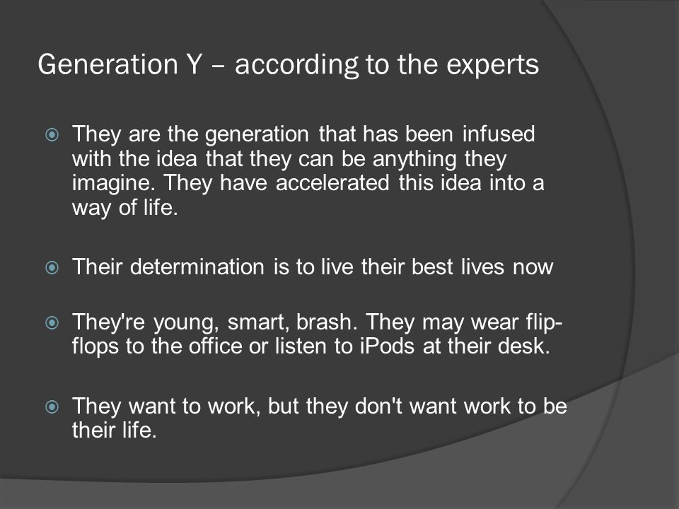 Generation Screwed.