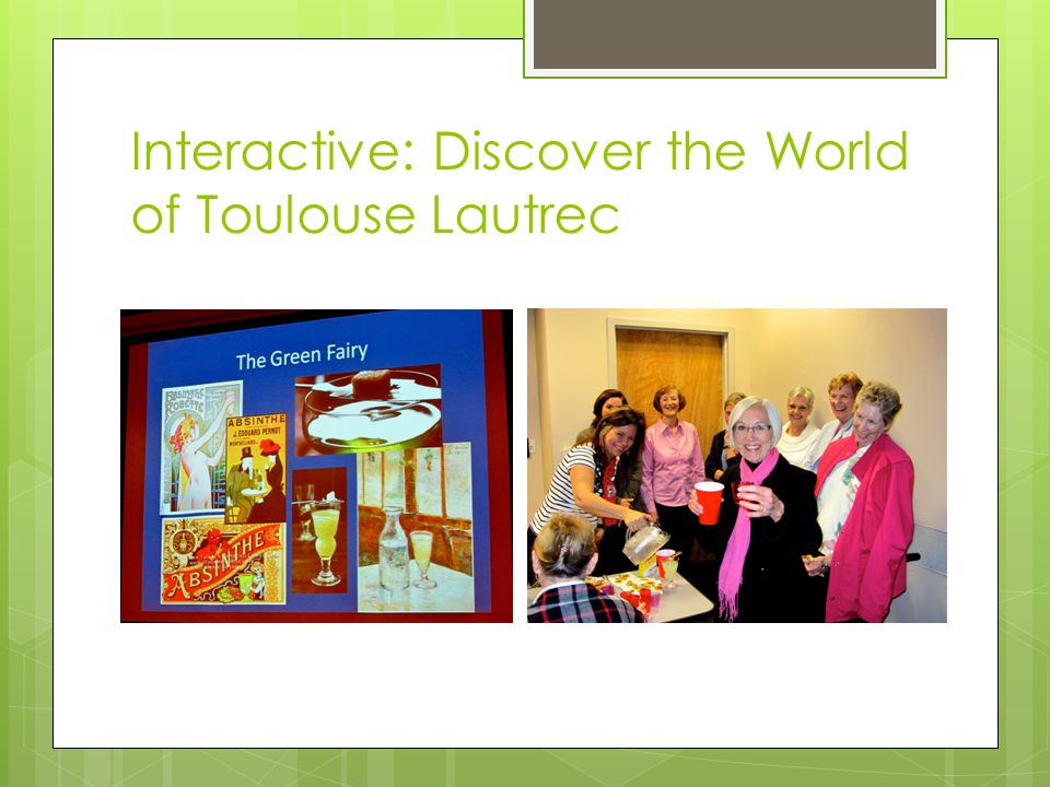 Interactive: Discover the World of Toulouse Lautrec