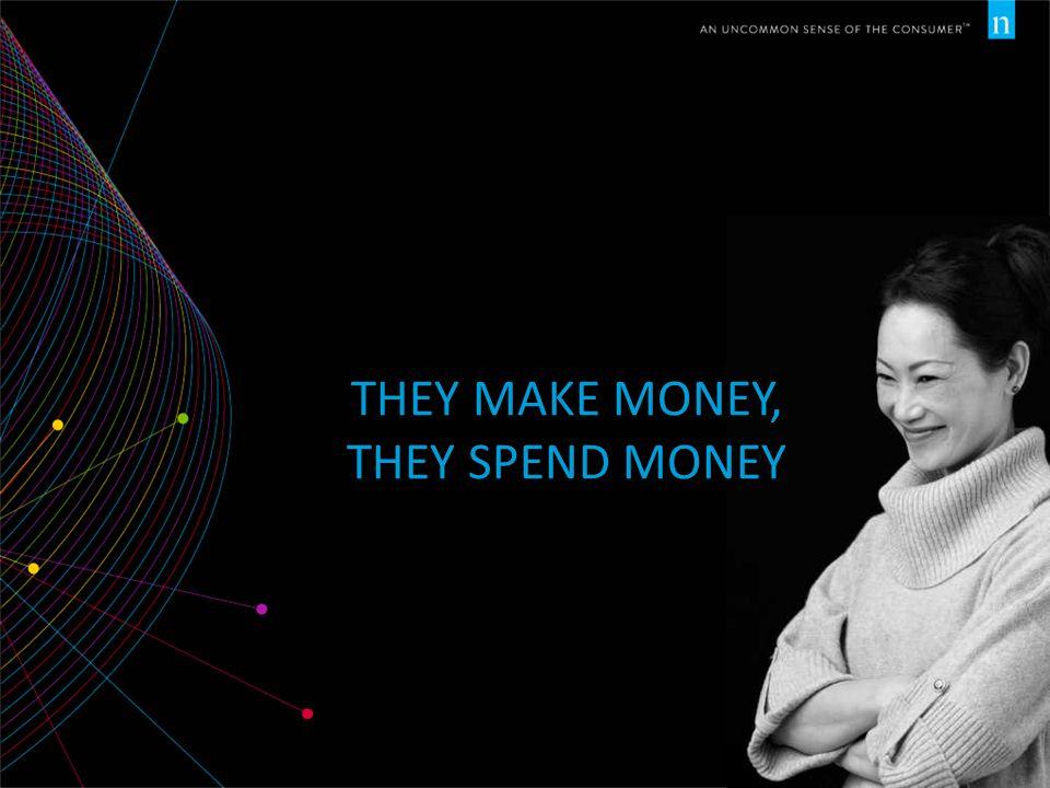 THEY MAKE MONEY, THEY SPEND MONEY