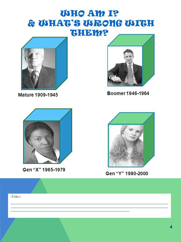 MATUREBOOMERGEN XGEN Y VALUE SYSTEMS HEROES SUCCESS DEFINITIONS COACHING MODEL 5