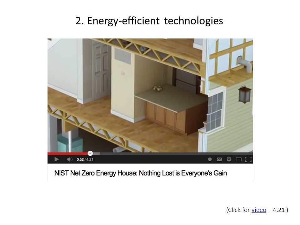(Click for video – 4:21 )video 2. Energy-efficient technologies