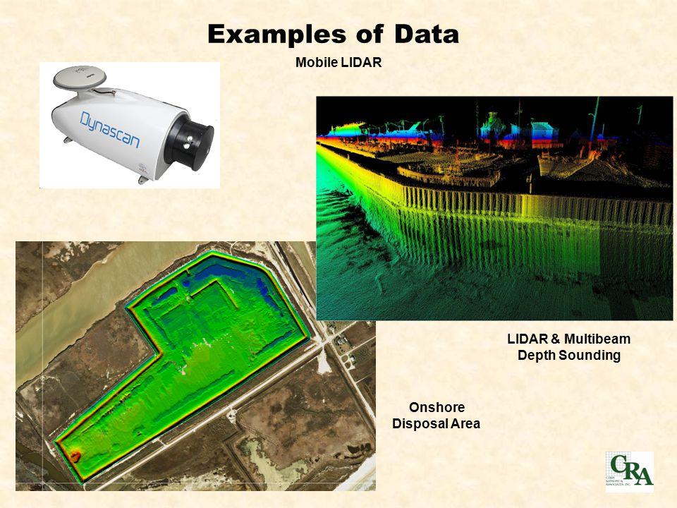 Mobile LIDAR LIDAR & Multibeam Depth Sounding Onshore Disposal Area