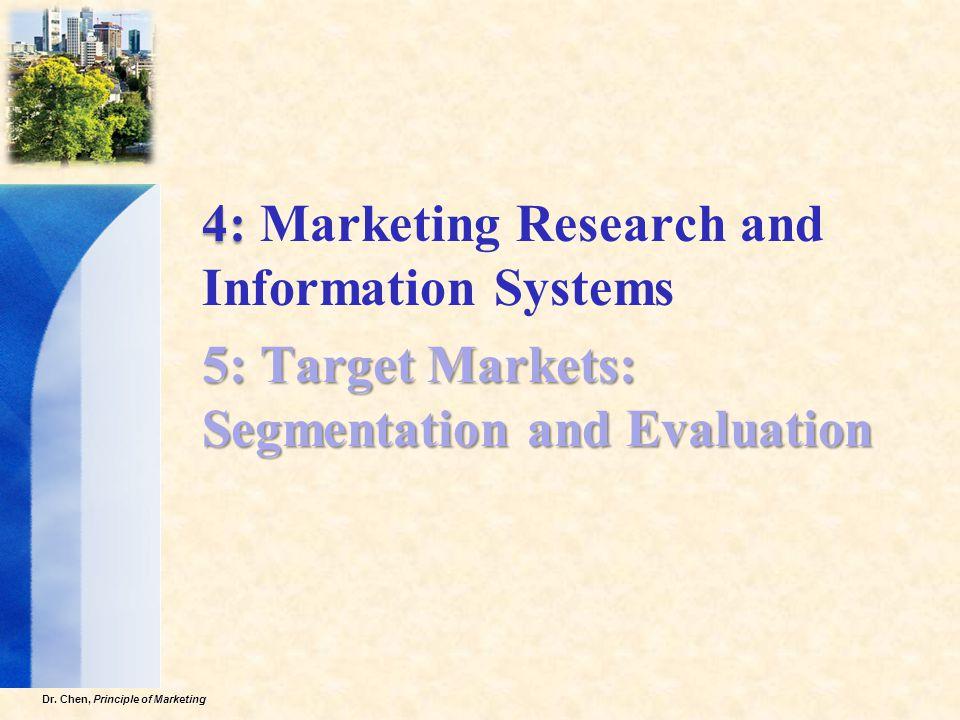 Dr.Chen, Principle of Marketing 13  1.
