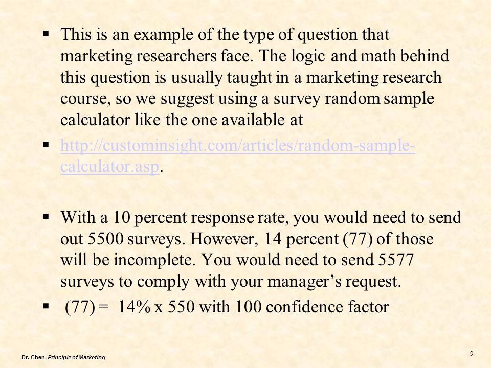 Dr.Chen, Principle of Marketing 20  3.