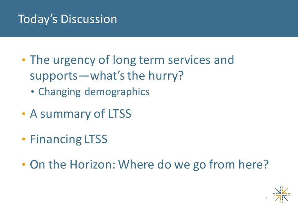 What is the most urgent priority for long term services and supports in Colorado.