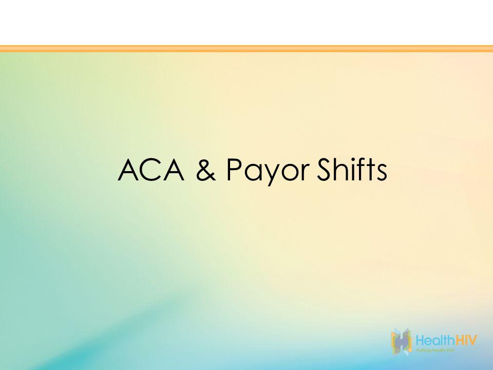 ACA & Payor Shifts