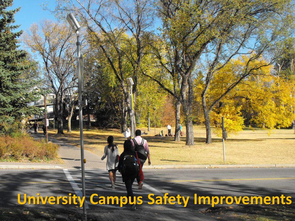 University Campus Safety Improvements