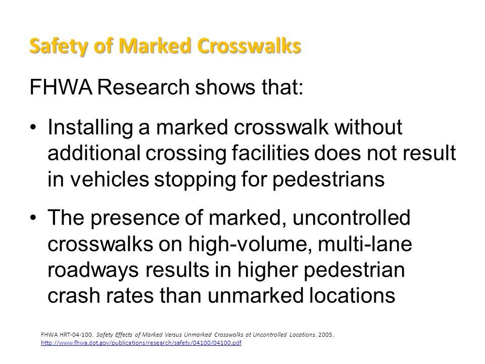 RRFB Applications Rectangular Rapid Flashing Beacons are ideal for: –Urban mid-block crosswalks –Multi-lane crosswalk locations –University campus crosswalks –School zone crosswalks –Greenways –Bicycle boulevards –Trail crossings