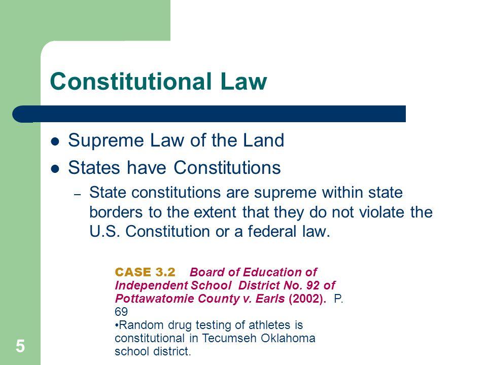 Statutory Law Created by Legislative Bodies.
