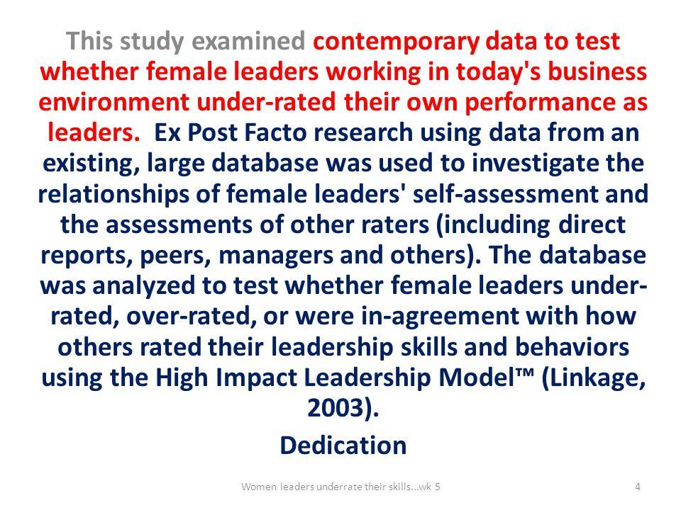 The High Impact Leadership Model Figure 2.