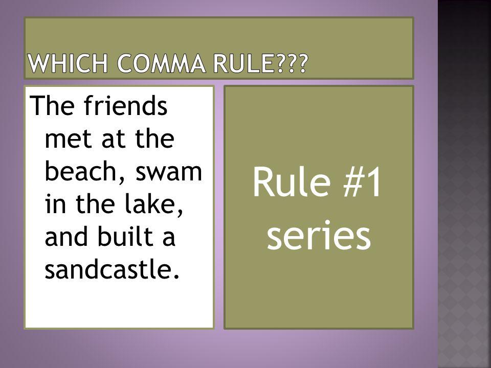 Rule #1 series