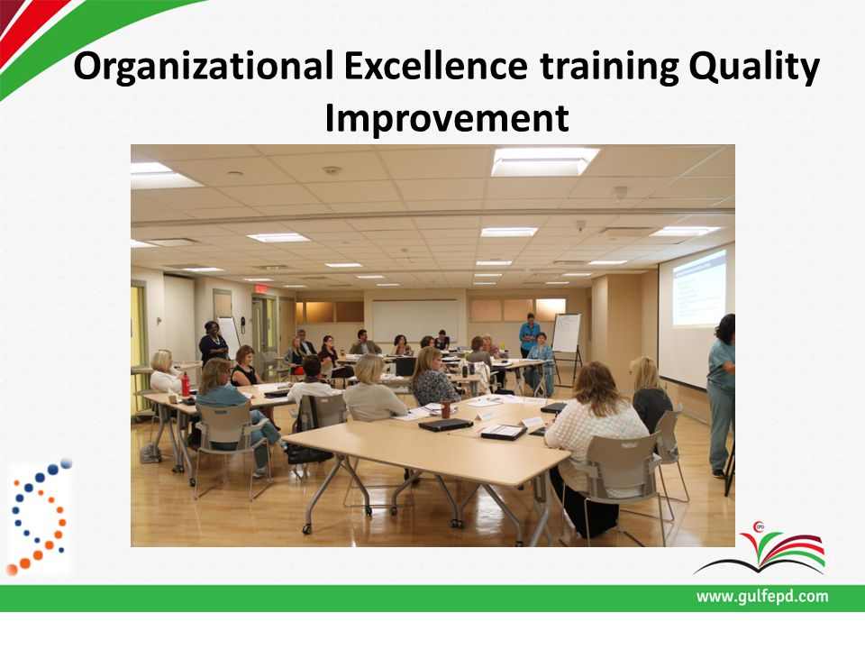 Organizational Excellence training Quality Improvement