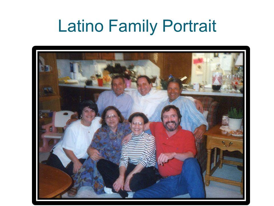 Latino Family Portrait
