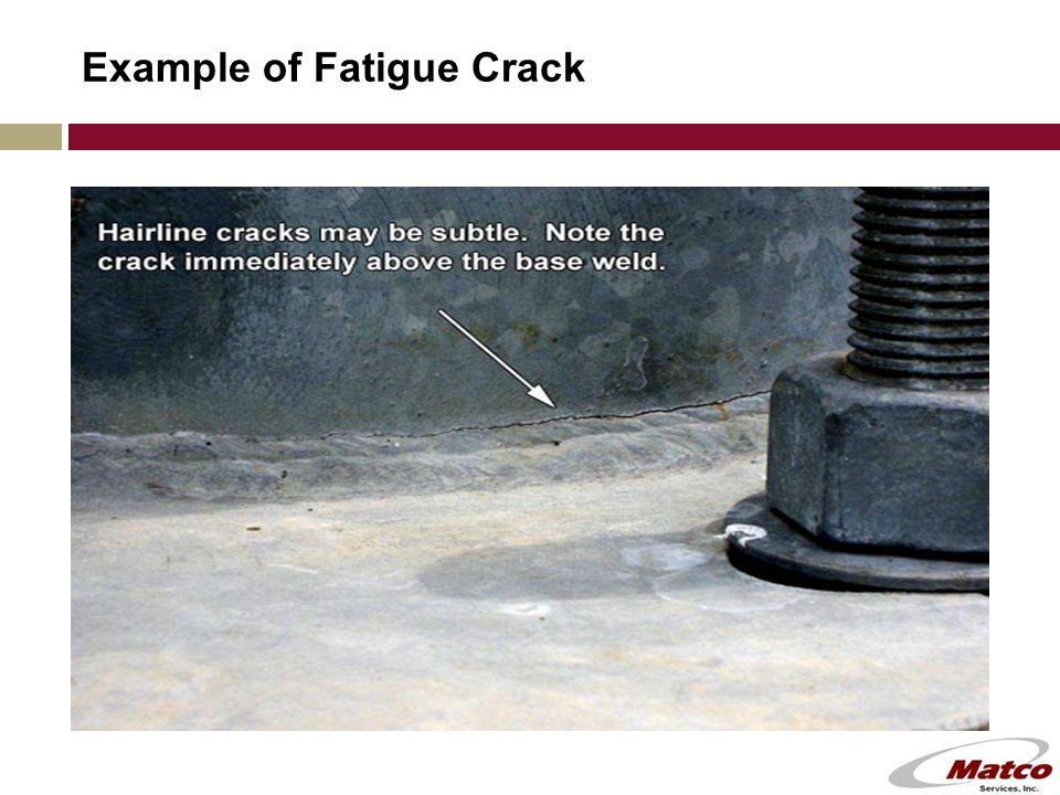 Example of Fatigue Crack