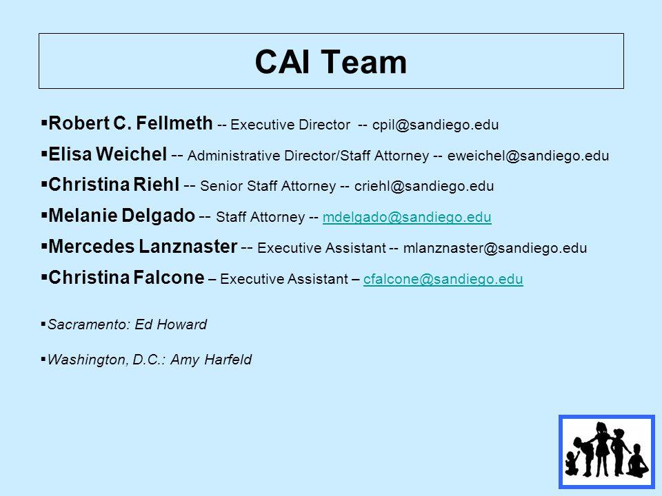 CAI Team  Robert C.