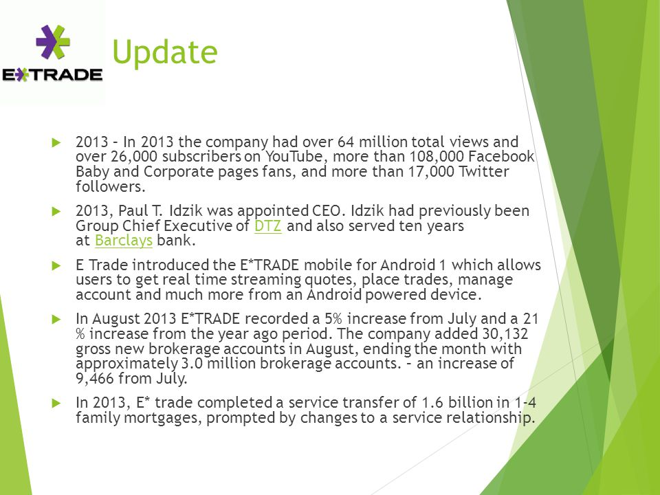 Update  2013 – In 2013 the company had over 64 million total views and over 26,000 subscribers on YouTube, more than 108,000 Facebook Baby and Corporate pages fans, and more than 17,000 Twitter followers.