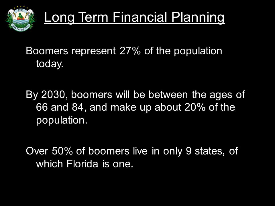 Slide 11 Boomers represent 27% of the population today.