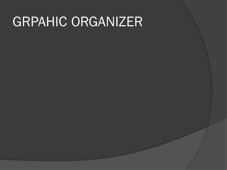 GRPAHIC ORGANIZER