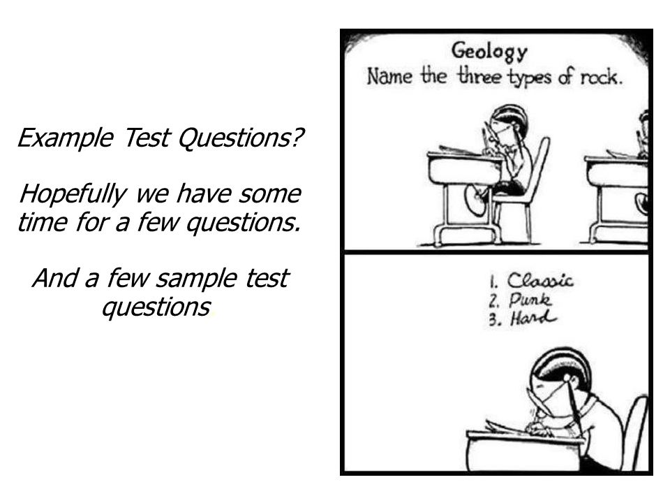 Taking the Test Example Test Questions? (Candidate Handbook, Page 20) http://www.asbog.org/