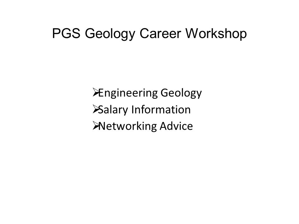 Professional Sectors Engineering Geology Brian Greene