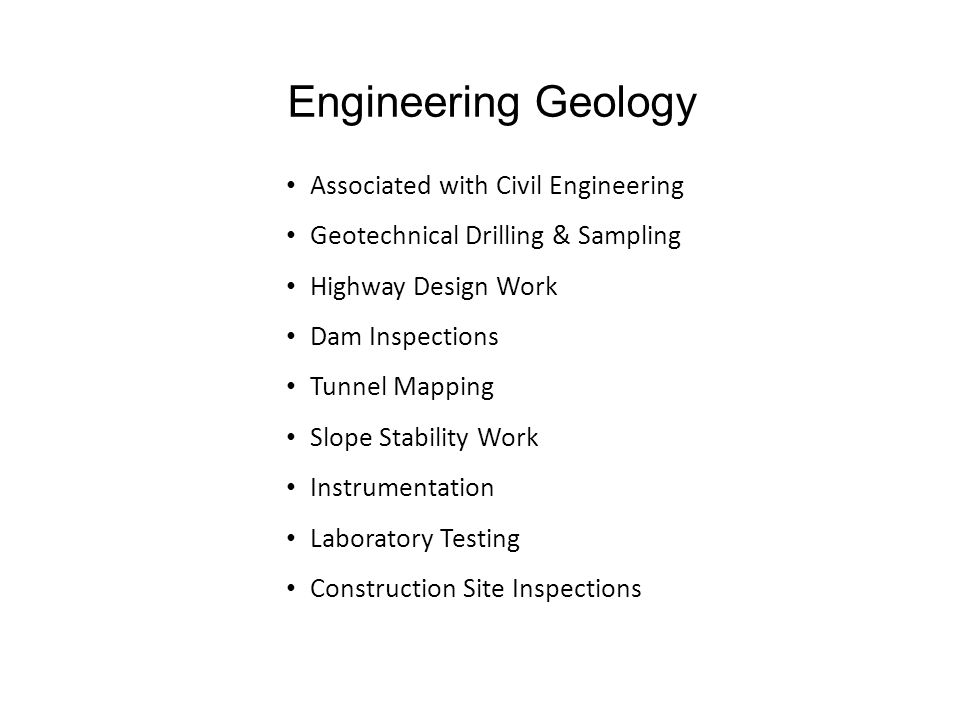 PGS Geology Career Workshop  Engineering Geology  Salary Information  Networking Advice