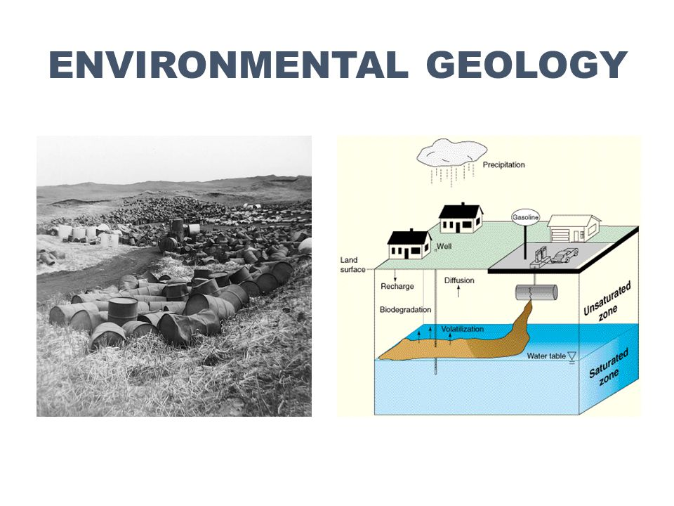 Professional Sectors Environmental Geology Frank Benacquista