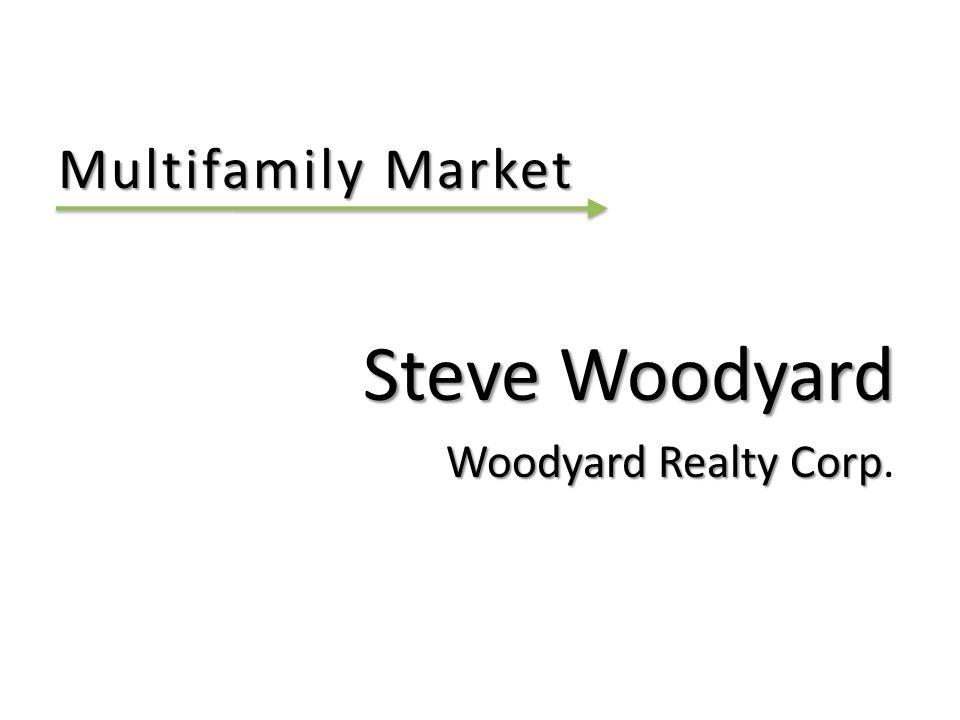 Multifamily Market Steve Woodyard Woodyard Realty Corp Woodyard Realty Corp.