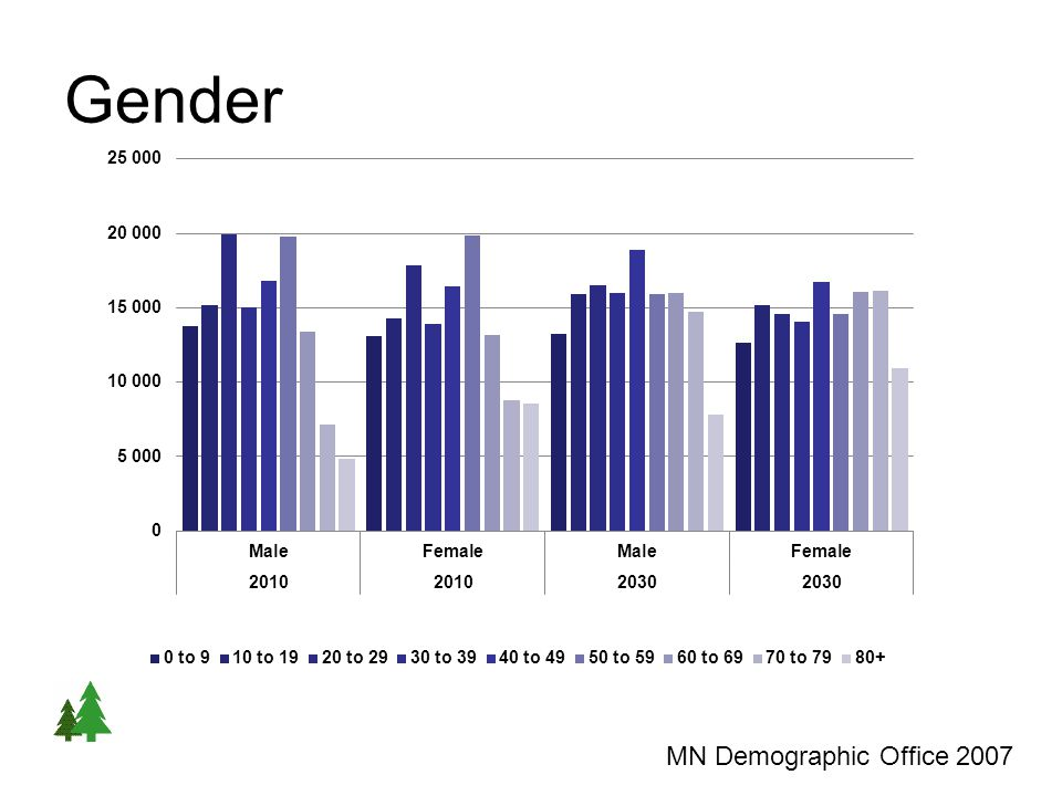 Gender MN Demographic Office 2007