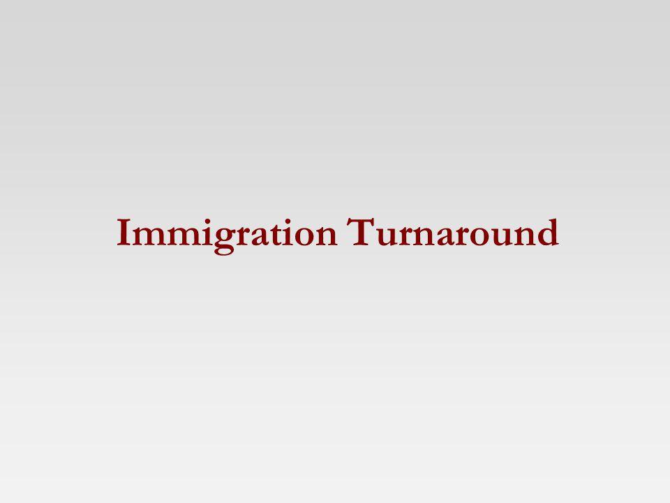 Immigration Turnaround