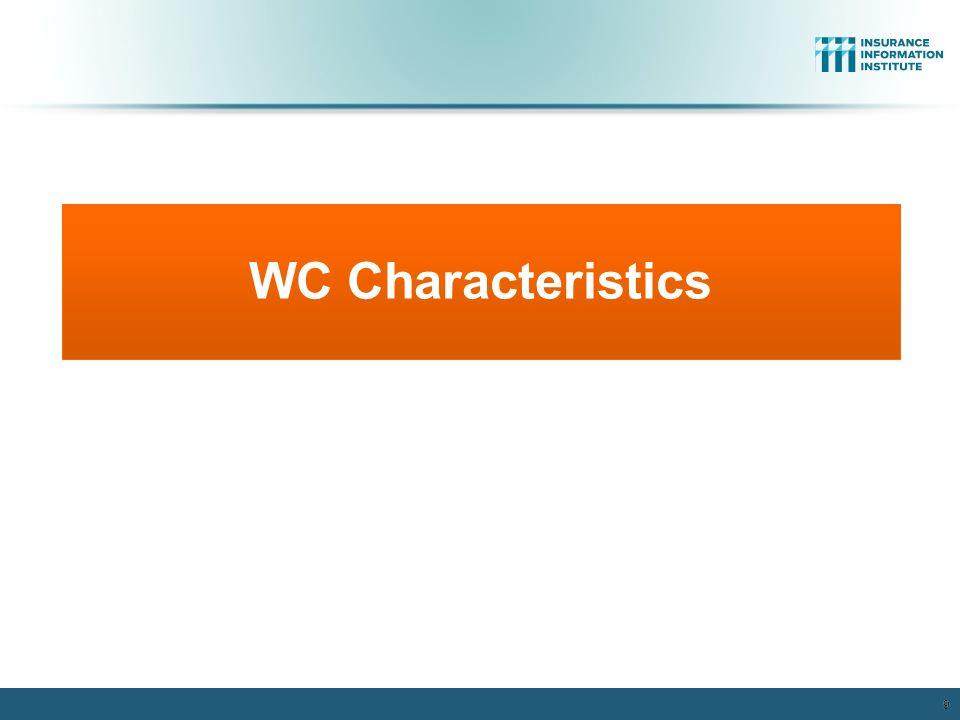 WC Characteristics 9 12/01/09 - 9pm 9