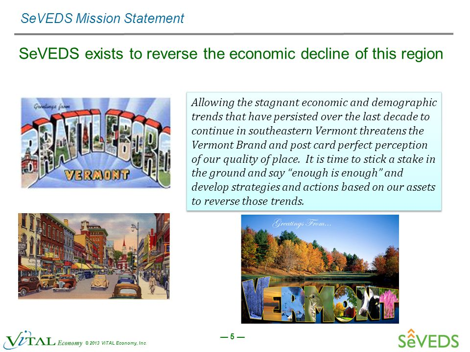 — 5 — © 2013 ViTAL Economy, Inc.