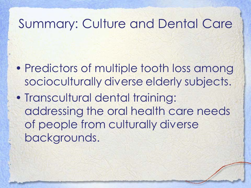 Cross cultural adaptation of oral health-related quality of life measures.