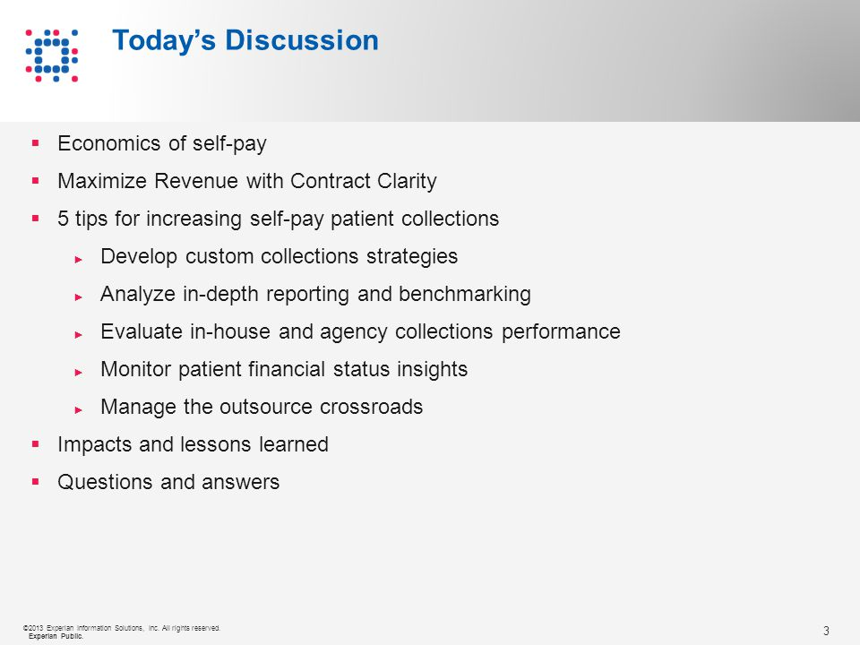 14 ©2013 Experian Information Solutions, Inc.All rights reserved.