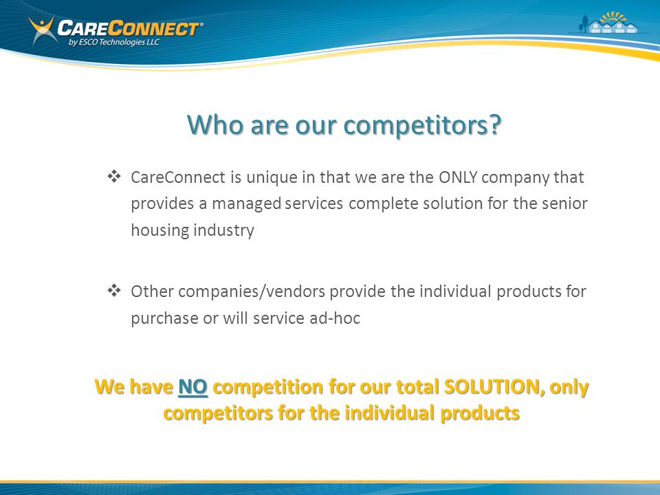 Who are our competitors.