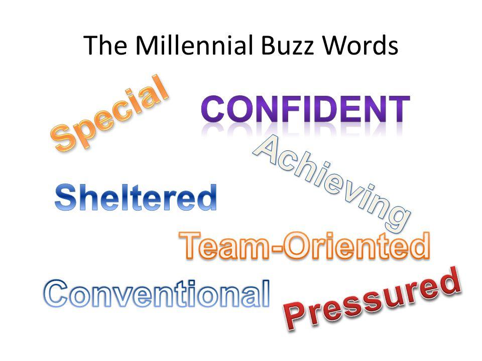 The Millennial Buzz Words