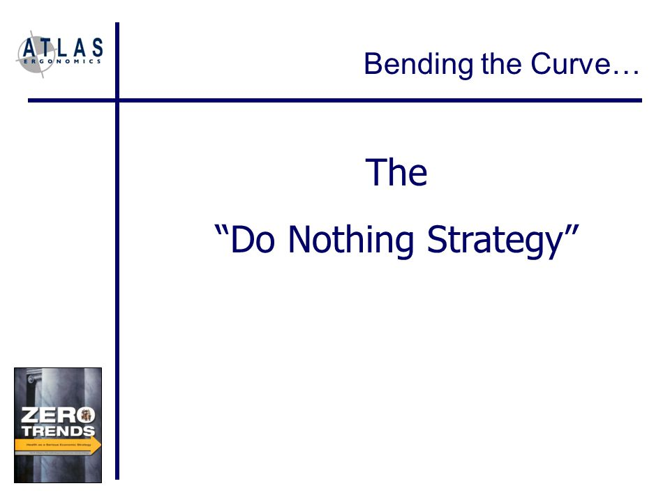 Bending the Curve… The Do Nothing Strategy