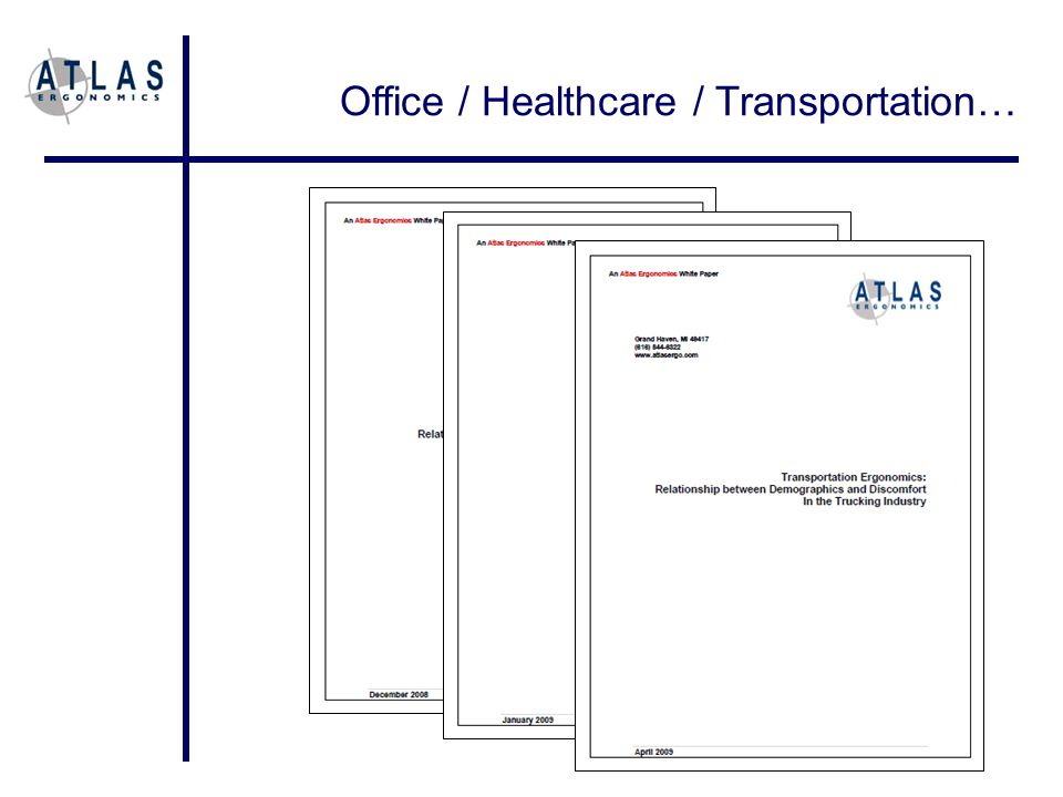 Office / Healthcare / Transportation…