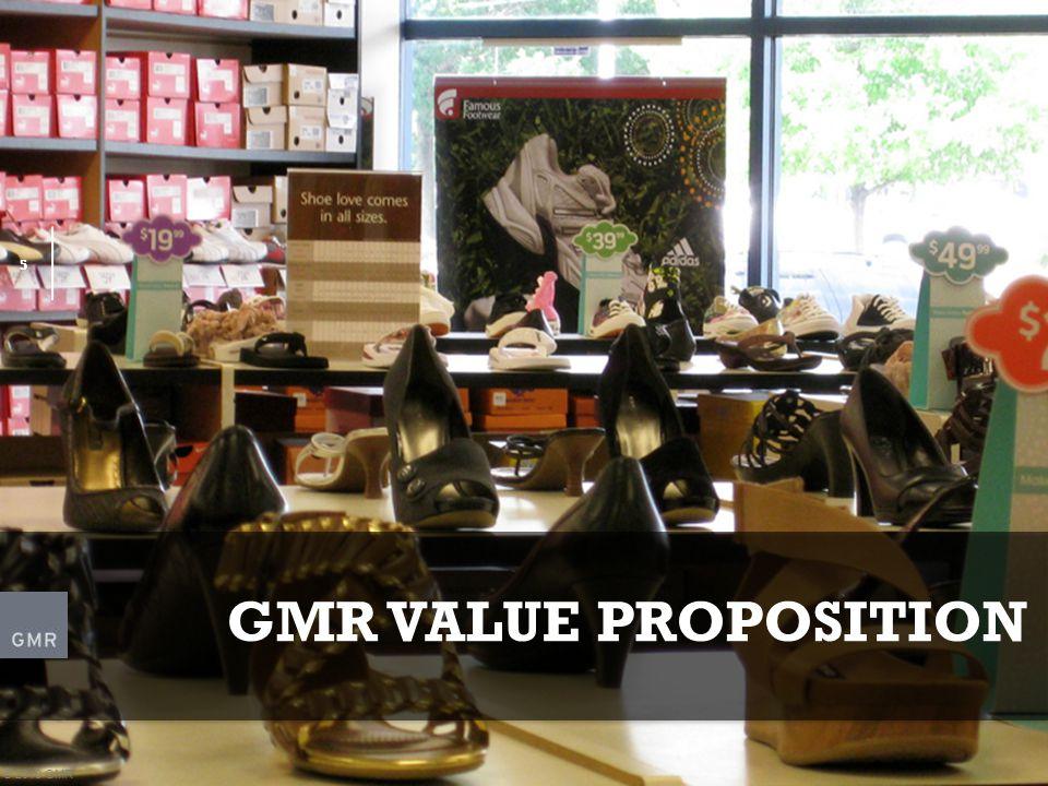5 5 GMR VALUE PROPOSITION © 2010 GMR