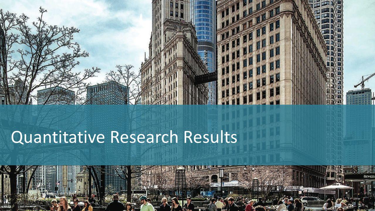 Quantitative Research Results