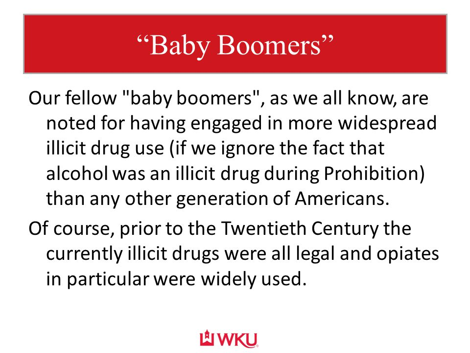 """Baby Boomers"" Our fellow"