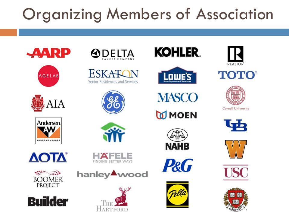 Organizing Members of Association 60